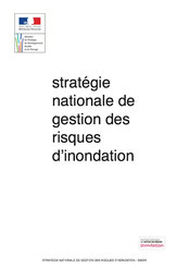 Stratégie nationale de gestion des risques d'inondation, 2014