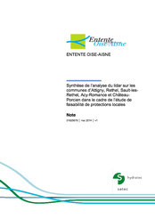 Synthèse de l'analyse du Lidar sur les communes d'Attigny, Rethel, ... 2013