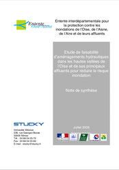 Etude de faisabilité d'aménagements hydrauliques dans  les... 2005