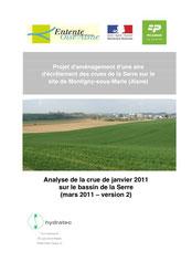 Analyse de la crue de janvier 2011, 2011
