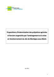 Proposition d'indemnisations agricoles