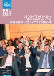 Plaquette de présentation du Comité de bassin Seine Normandie