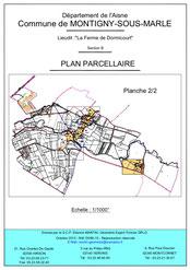Dossier parcellaire, annexes