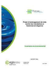 Inventaire environnemental, 2009