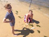 peche arcachon enfant surfcasting