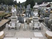 9寸先祖墓+9寸五輪塔+墓地整備(雑草対策):岡山市