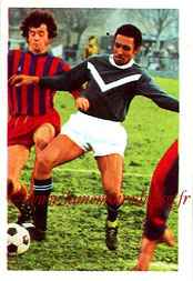 N° 045 - Jean-Pierre TOKOTO (1972-73, Bordeaux > 1975-78, PSG)