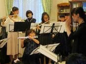 発表会で合奏(6歳)