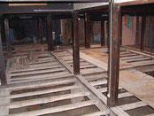 床組みの調整 土搬入4tx4台