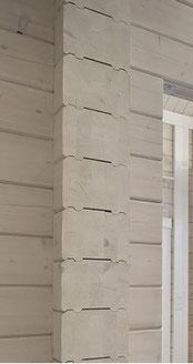 Lamellenbalken 275x220 mm sind dauerhaft formstabil und passgenau