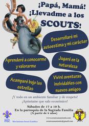 Cartel scouts San Antonio de Ávila