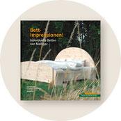 runder Button: Betten-Broschüre