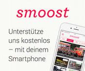 smoost - Unterstütze uns kostenlos - mit deinem Smartphone!