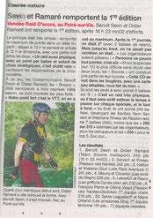 Ouest France du 17 juin 2013