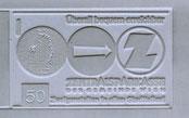 Überall bequem erreichbar (Verkehrszeichen, Münze, Z-Logo) Zentralsparkasse Traimer 1964 Klischee