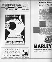 Ihre rechte Hand in allen Geldangelegenheiten Z zentralsparkasse der Gemeinde Wien (41 Zweigstellen). Inserat vor 1960.