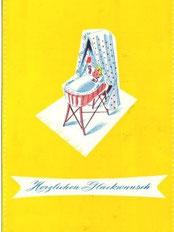 Geschenk-Karte 1962