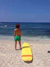 サーフィン発祥の地でサーフィンしよう! サーフィンロコポイント案内 サーフィンレッスン 英語のガイドとキワイルカ が担当します。