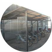 サイクルポート改修工事