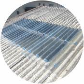 破損採光屋根取替工事