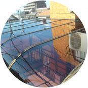 テラス屋根取替工事