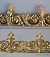 Bilderahmen restauriert und vergoldet