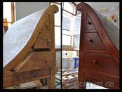 Restaurierung bzw. Restauration von Möbel bzw. Moebel und Holz