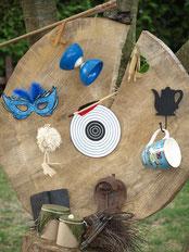 Pinnwand für Theater, Spieltreff, Marionettenbau, Kafferunde und Lesestunde.