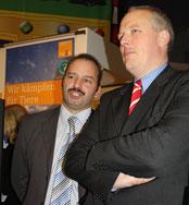 Ulrich Kelber, MdB aus Bonn, SPD-Bundestagsfraktion bei der IGW 2009. Der Informatiker Kelber engagiert sich besonders für Umwelt und Erneuerbare Energien. Foto: Helga Karl