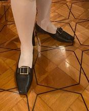 chaussure de bal premier empire regency