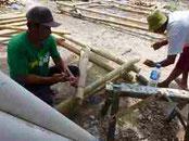 養殖筏設計・製作指導