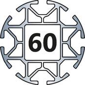 Aluprofil 60