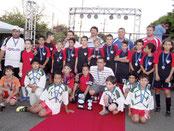 Grêmio Espe Campeão da 20ª Rua do Lazer Futsal Sub 12 - 2012