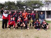 Campeão 1º Torneio do Cruzeiro Veteranos - Santiago-RS - 2014
