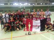 Campeão do Cruzeiraço de Itaqui - Sub 15 - 2017