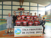Campeão Taça Fronteira de Base - Sub 15 - 2015