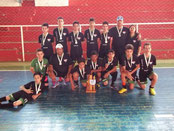 Vice Campeão Taça Fronteira São Gabriel-RS - Sub 13 - 2013
