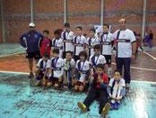 Campeão Municipal de Santiago-RS - Sub 12 - 2012