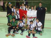 Vice Campeão do Cruzeiraço Futsal Base Sub 13 - 2014