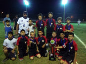 Vice Campeão Municipal Futsete-Sub 11 - 2011