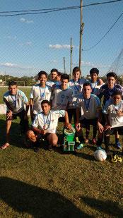 Campeão Municipal Sub 17 - 2016