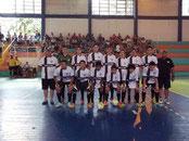 Vice Campeão 4ª Taça Fronteira de Futsal Base / 2014
