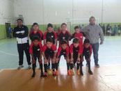 Vice Campeão Municipal Santiago-RS - Sub 10 - 2015