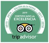 Certificado de Excelencia UNICA BARCELONA TOURS