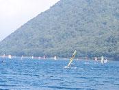 ウインドサーフィン SUP 海の公園 神奈川 横浜 スピードウォール スクール 体験 初心者  浅野 穴山 本栖湖