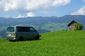 Freiheit mit dem VW California T5 / T6
