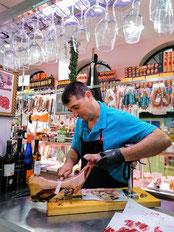 dégustation de jambon ibérique et produits locaux Séville, Sévilla, visite guidée food tour