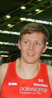 """Marco Giese lief in 3:53,45min auf Platz 10 bei den """"Deutschen"""""""