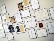 Auszeichnungen aus meiner Zeit bei Creativvideo