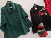 ウールの手織り